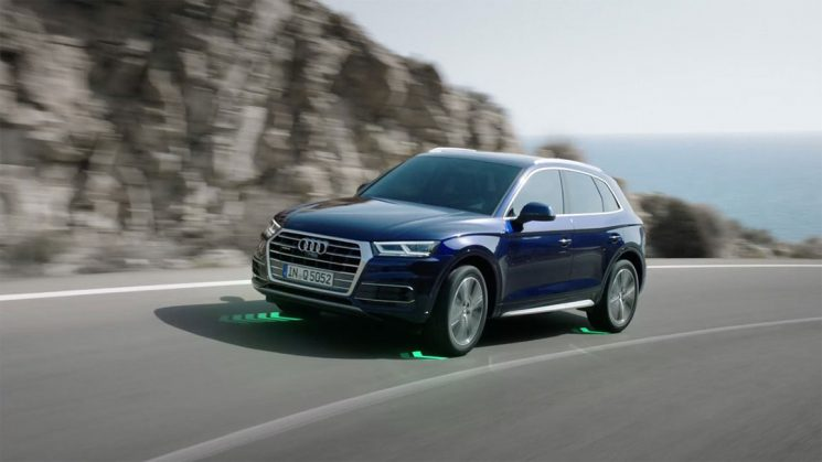 Audi Q5 quattro Arbeitsweise