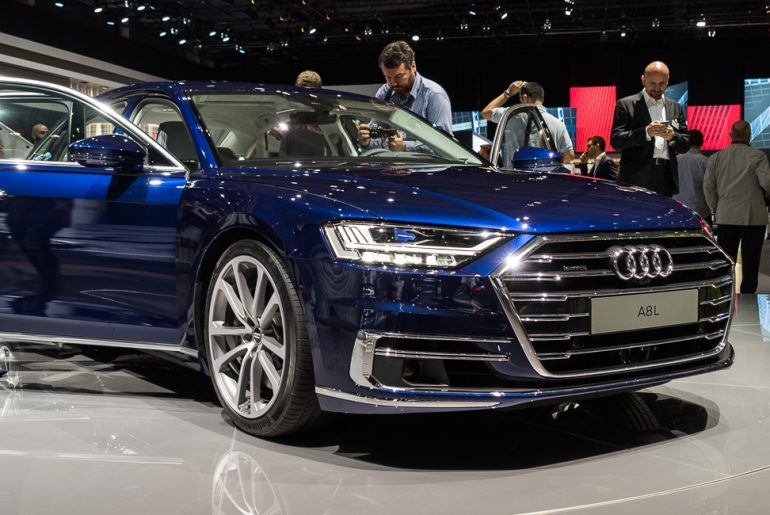 Vorstellung: Weltpremiere des neuen 2018 Audi A8 – Willkommen in der Zukunft