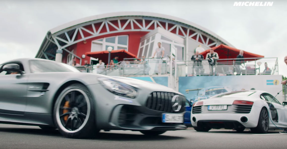 Michelin Drivestyle Episode 2: mit dem Mercedes-AMG GT R auf der Nürburgring Nordschleife