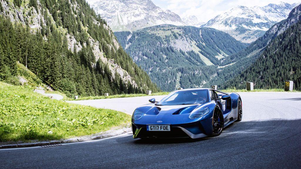 Michelin Drivestyle - Mit dem neuen Ford GT in den Alpen