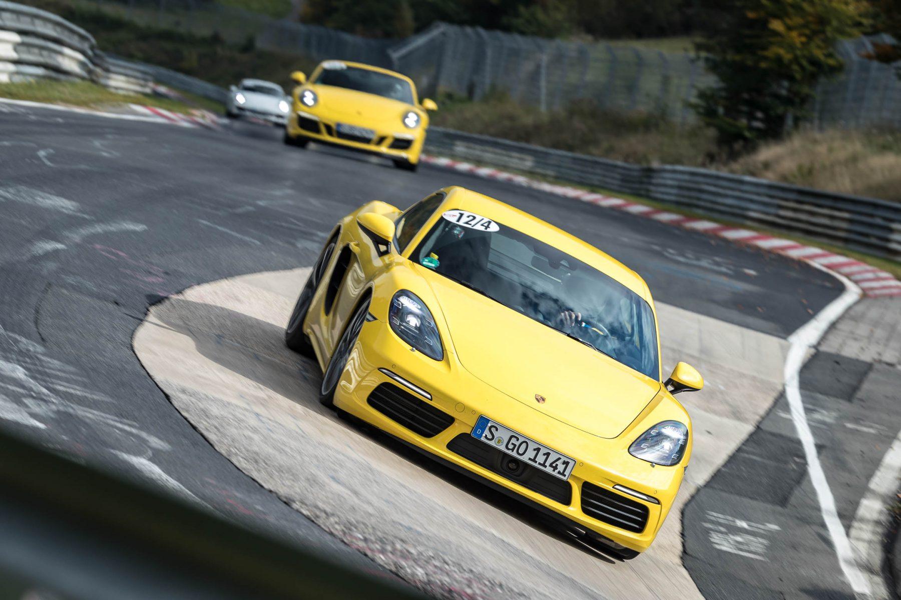 Porsche 718 Cayman S Sport Auto Perfektionstraining auf der Nordschleife