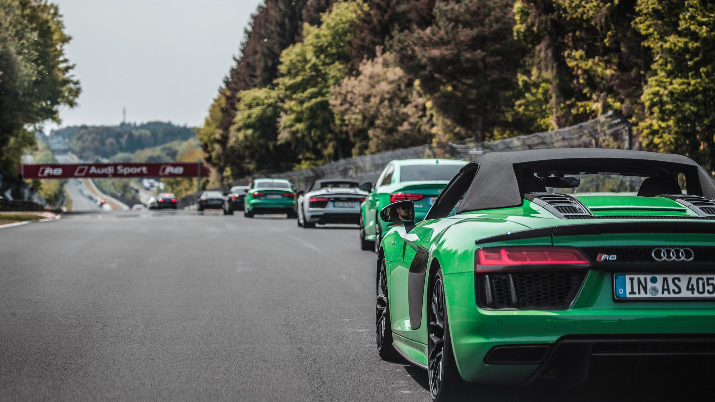 Audi Corso vor dem 24h Rennen