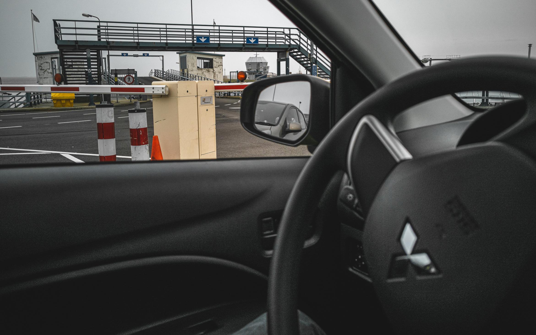 Warten auf die Fähre...