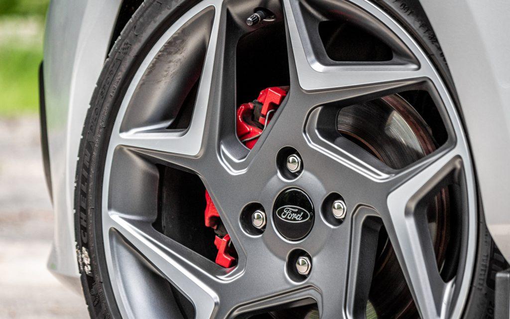 Nicht standfest: Die Bremse des Fiesta ST