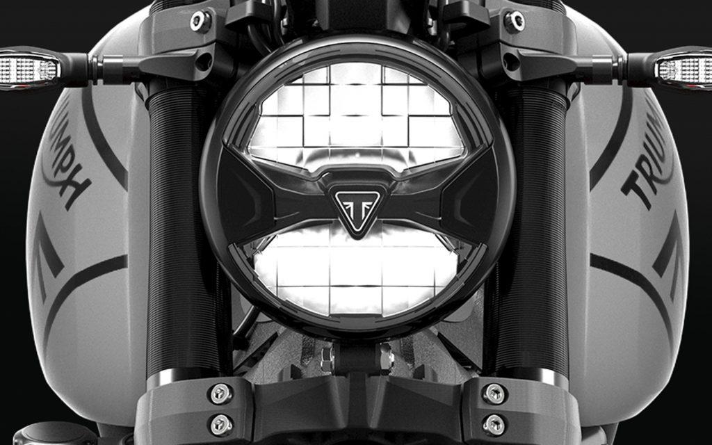 Triumph Trident LED-Scheinwerfer