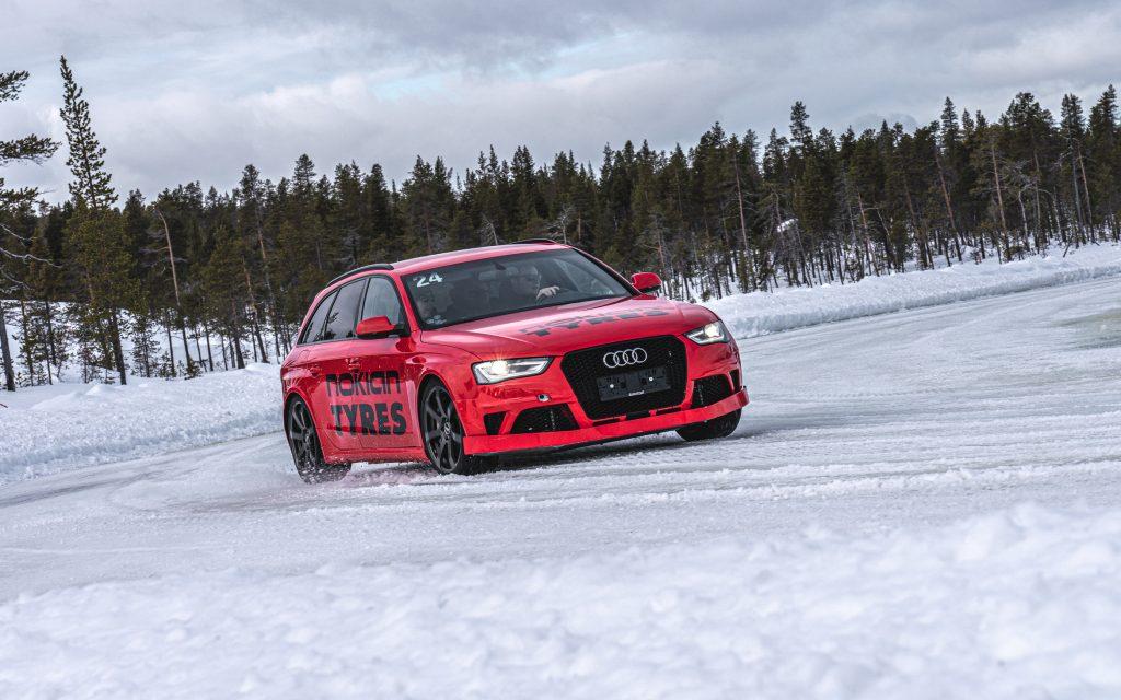 Winterreifentest Nokian Snowproof P