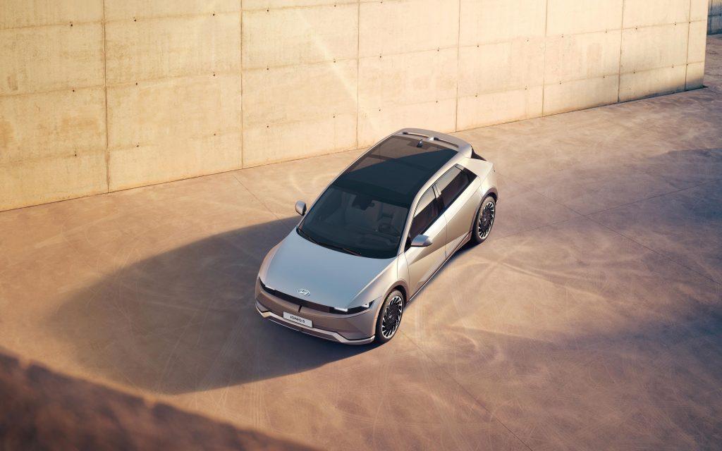 Solardach auf dem Hyundai Ioniq 5